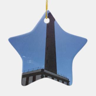Malaga Lighthouse Christmas Ornament