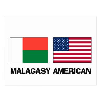 Malagasy American Postcard