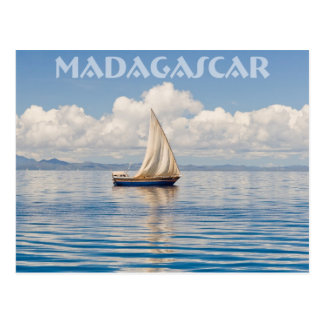 Malagasy Boutre Post Cards
