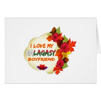 Malagasy Boyfriend Design Greeting Card