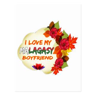 Malagasy Boyfriend Design Postcard