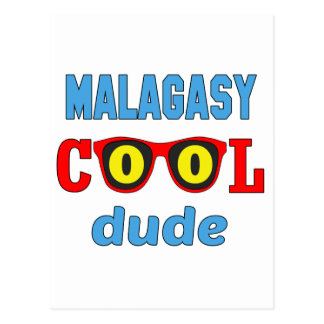 Malagasy Cool Dude Postcard