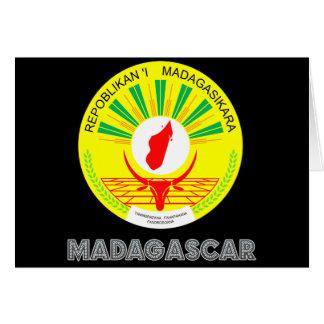 Malagasy Emblem Greeting Cards