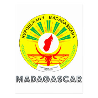 Malagasy Emblem Post Cards