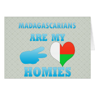Malagasys are my Homies Greeting Card