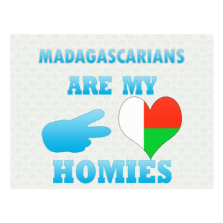 Malagasys are my Homies Post Cards