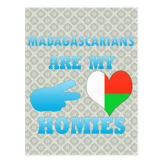 Malagasys are my Homies Postcards