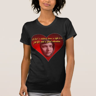Malala Heart T Shirt