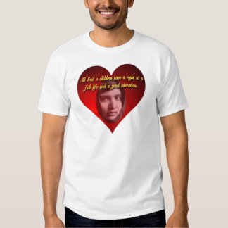 Malala Heart T-Shirt