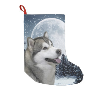 Malamute Christmas Stocking