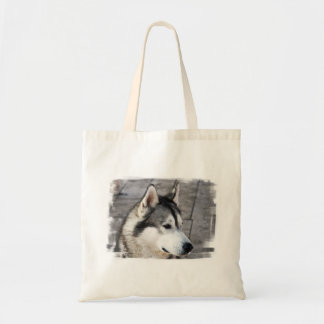 Malamute Photo Small Canvas Bag