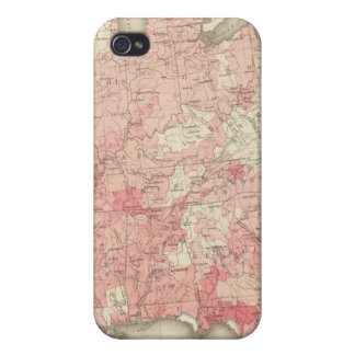 Malarial Deaths, Statistical US Lithograph iPhone 4/4S Covers