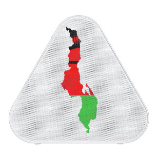 Malawi country flag map symbol silhouette