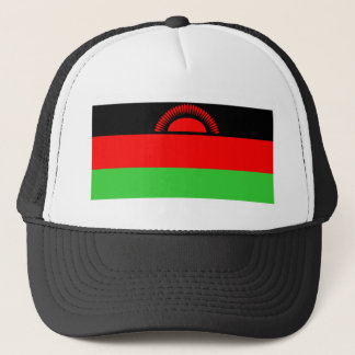Malawi country long flag nation symbol republic trucker hat