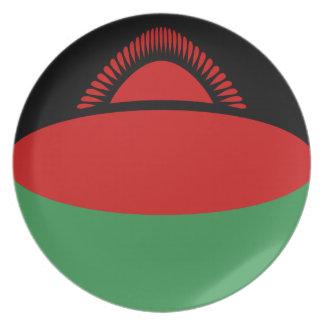 Malawi Fisheye Flag Plate