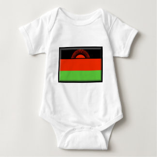 Malawi Flag Baby Bodysuit