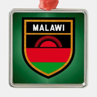 Malawi Flag Christmas Ornament