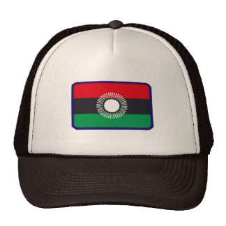 Malawi flag embroidered effect  hat