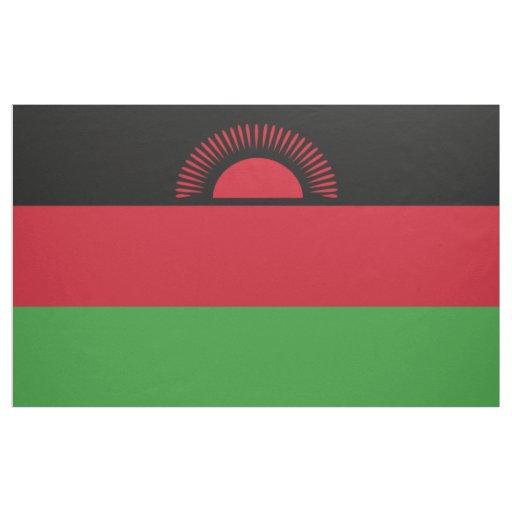 Malawi Flag Fabric