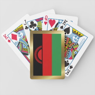 Malawi Flag Playing Cards Bicycle Playing Cards