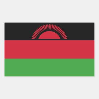 Malawi Flag Rectangular Sticker