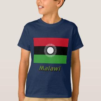 Malawi Flag with Name T-Shirt