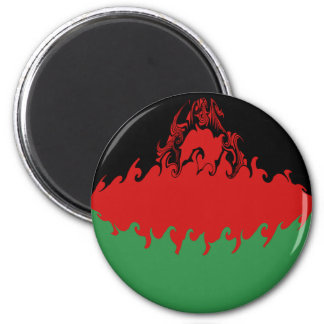 Malawi Gnarly Flag Magnets