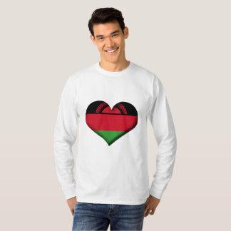 Malawi Heart Flag T-Shirt