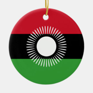 Malawi - Malawian Flag Christmas Ornament