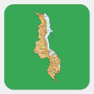 Malawi Map Sticker