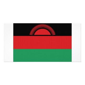 Malawi National Flag Photo Greeting Card
