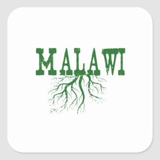 Malawi Roots Square Sticker