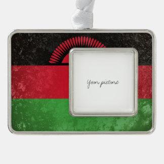 Malawi Silver Plated Framed Ornament