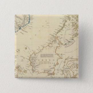 Malay Archipelago 15 Cm Square Badge