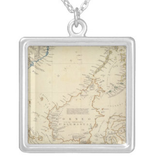 Malay Archipelago Silver Plated Necklace