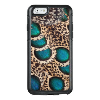 Malay Peacock-pheasant feathers OtterBox iPhone 6/6s Case