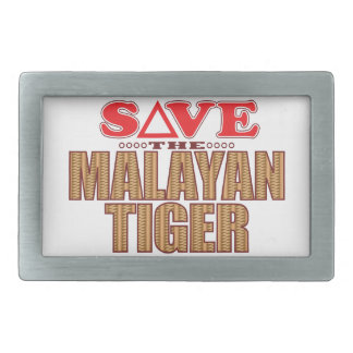 Malayan Tiger Save Belt Buckles