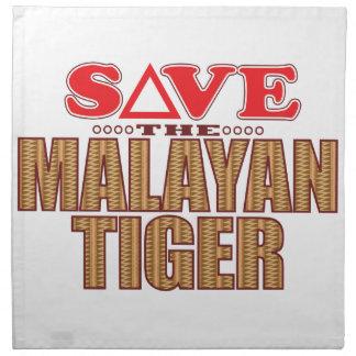 Malayan Tiger Save Napkin