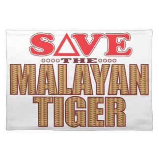 Malayan Tiger Save Placemat