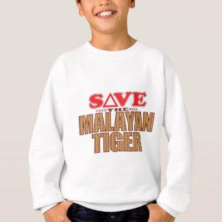 Malayan Tiger Save Sweatshirt