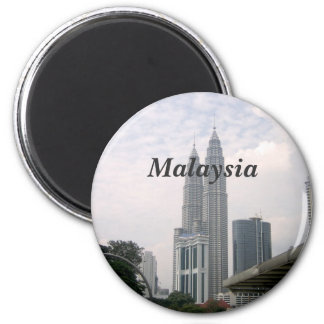 Malaysia Cityscape Magnet