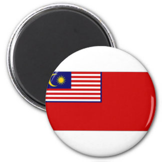 Malaysia Civil Ensign Magnet