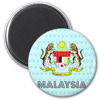 Malaysia Coat of Arms Magnet