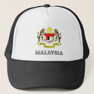 Malaysia Coat of Arms Trucker Hat