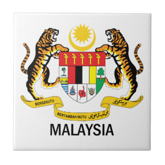 MALAYSIA - emblem/flag/symbol/coat of arms Tile