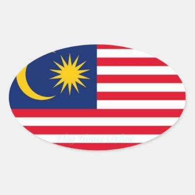 Malaysia high quality flag sticker zazzle co uk