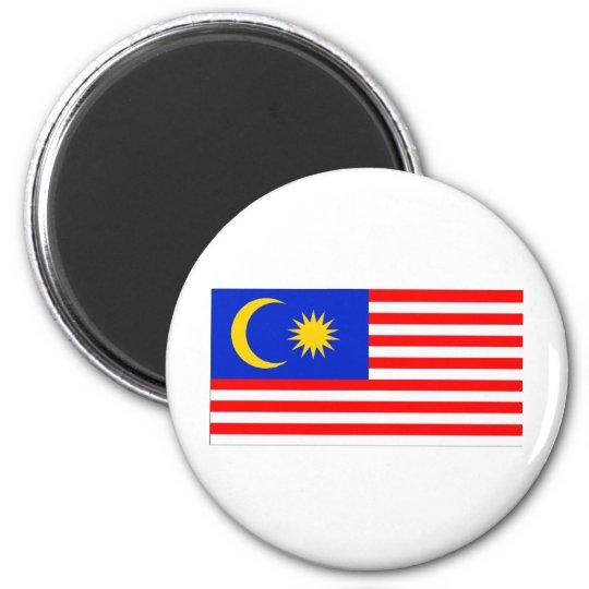 Malaysia Flag 6 Cm Round Magnet