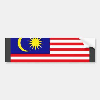 Malaysia Flag Bumper Sticker