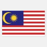 Malaysia: Flag of Malaysia Stickers