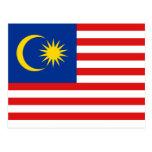 Malaysia Flag Postcard